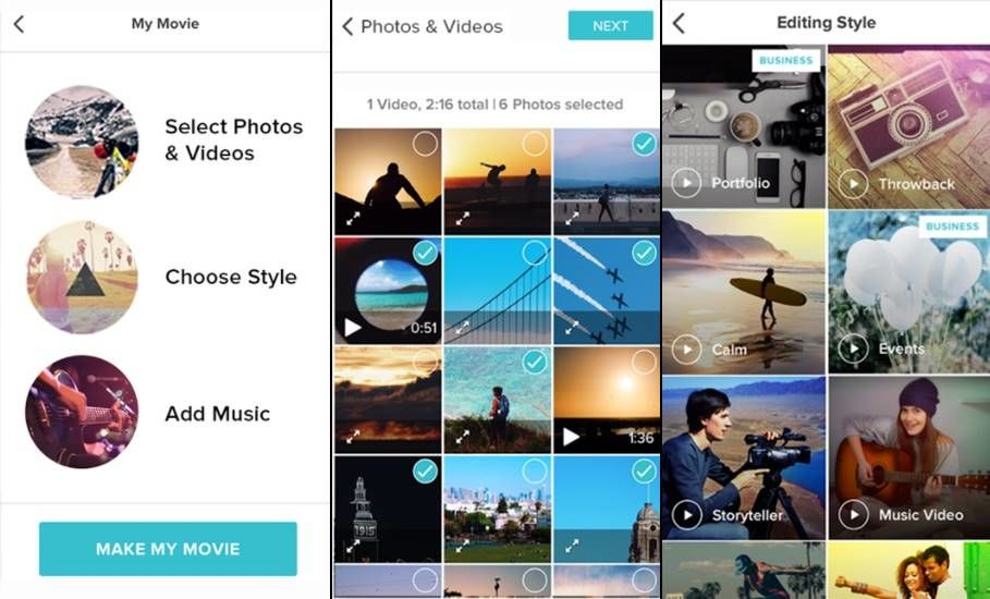Magisto, Aplikasi Editing Video di Android
