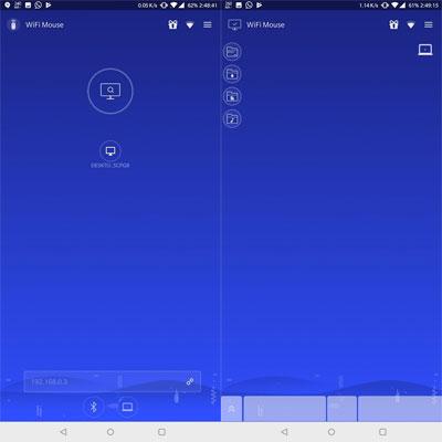 Cara Merubah HP Android Jadi Mouse Komputer