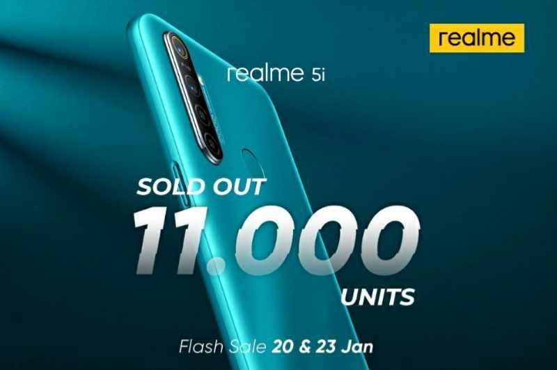 Flash sale realme 5i
