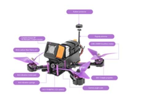 drone murah eachine wizard