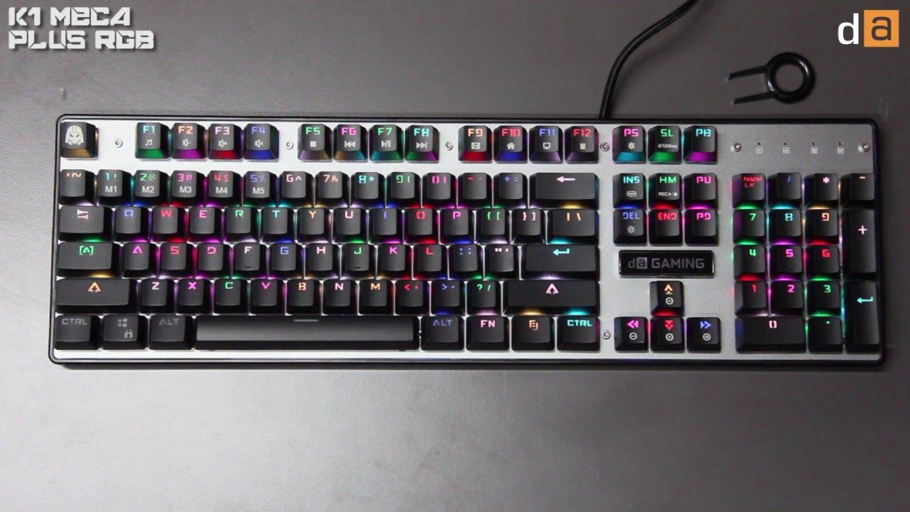 keyboard gaming digital alliance k1