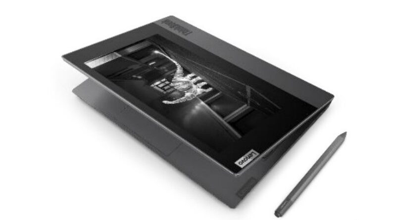 Lenovo ThinkBook Plus, Laptop Dual-Screen Buat Multi Tasking