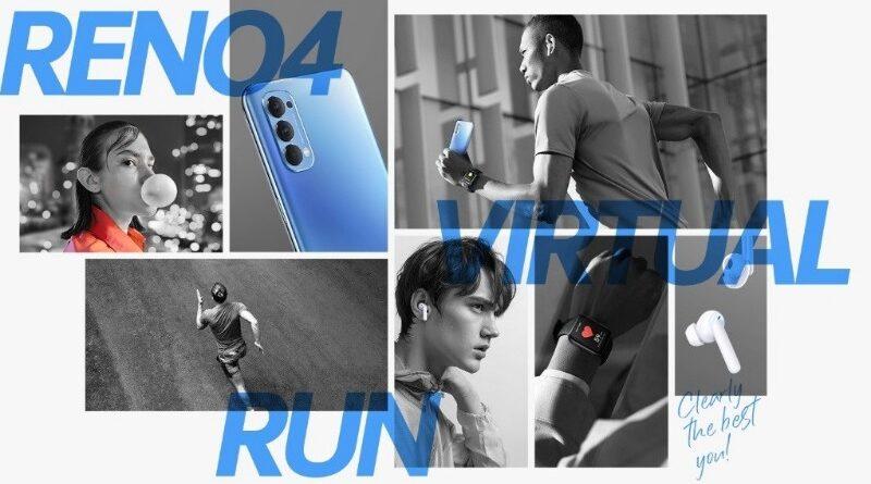 OPPO Reno4 Virtual Run Diikuti Lebih Dari 2500 Peserta