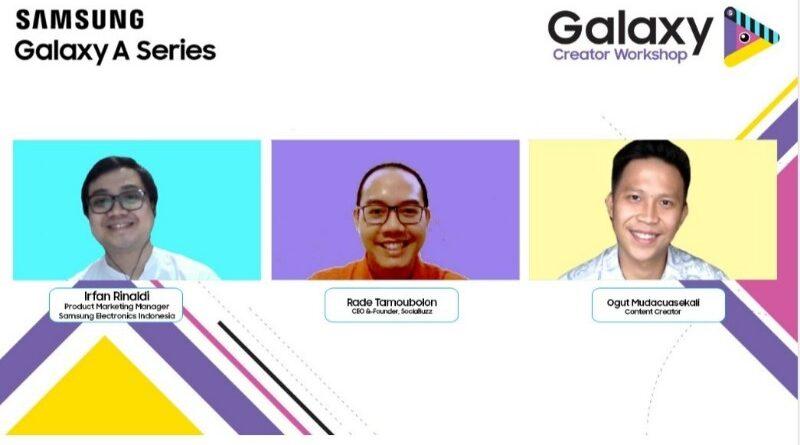 galaxy creator workshop samsung indonesia