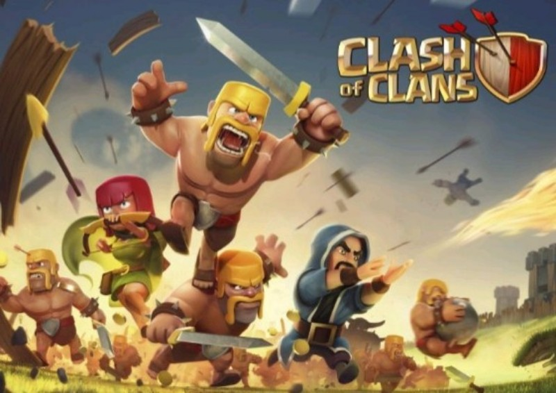 clash of clans game mobile