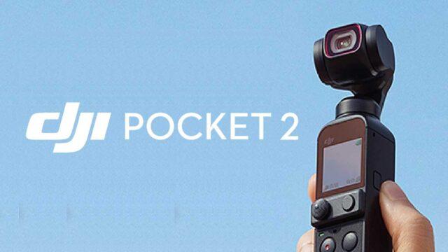 DJI pocket 2 dan DJI RS 2 serta RSC 2