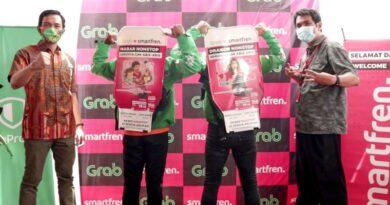 Smartfren & Grab Tingkatkan Keamanan Berkendara di Semarang