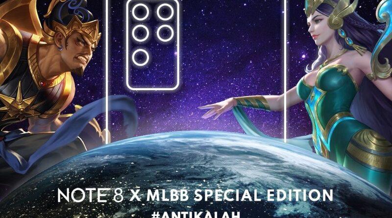 Infinix Note 8 Gandeng Mobile Legends,