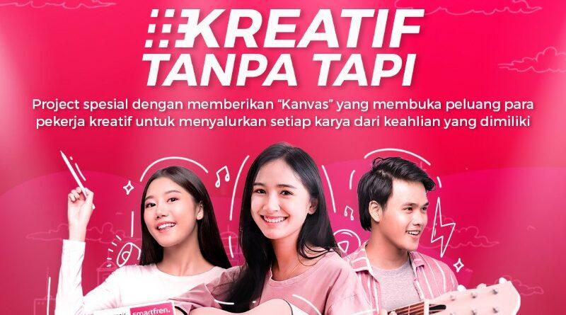 Smartfren Gelar #KreatifTanpa Dukung Pengembangan Talenta Digital