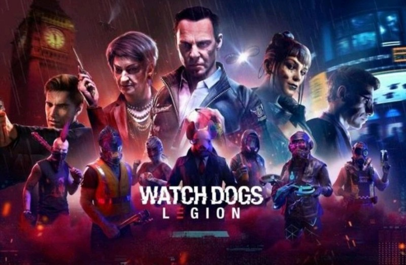 watch dog legions game