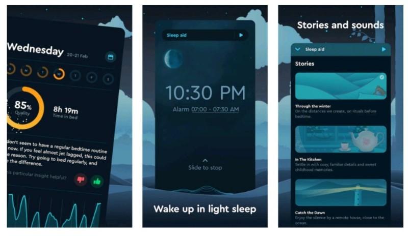 aplikasi sleep tracking terbaik sleep cycle