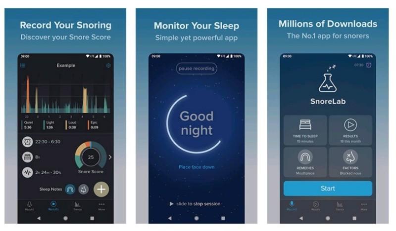 aplikasi android Sleep Monitor