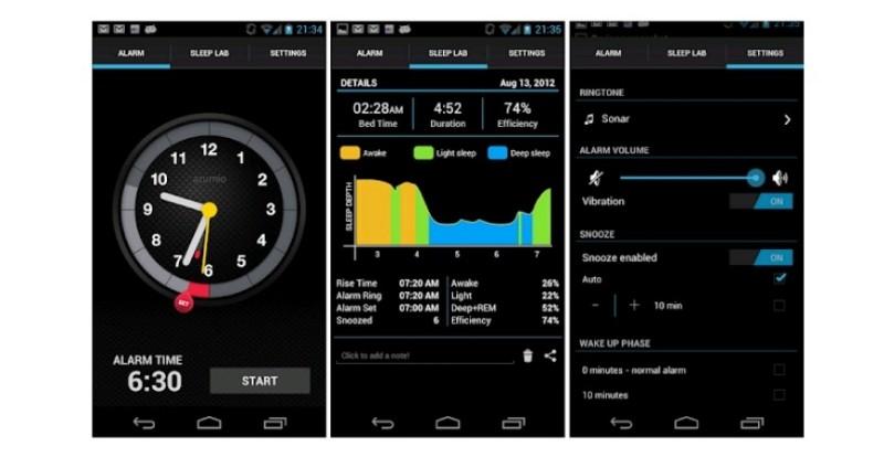aplikasi sleep Time android dan iphone