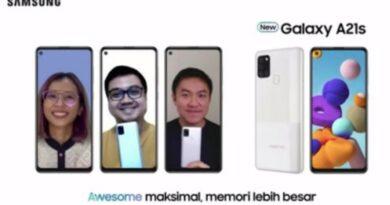 Samsung Galaxy A21s Terbaru Disuntik RAM 6GB, Memori 128GB