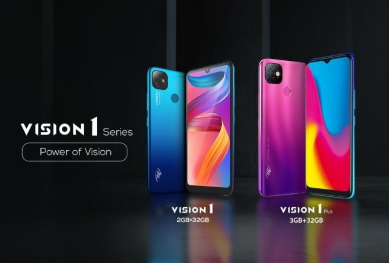 itel Vision 1 Plus dan Vision 1: Harga, Spesifikasi, Kelebihan
