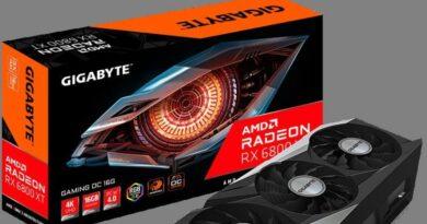 Kartu Grafis Gigabyte Radeon RX 6800 XT & RX 6800 Resmi Dirilis