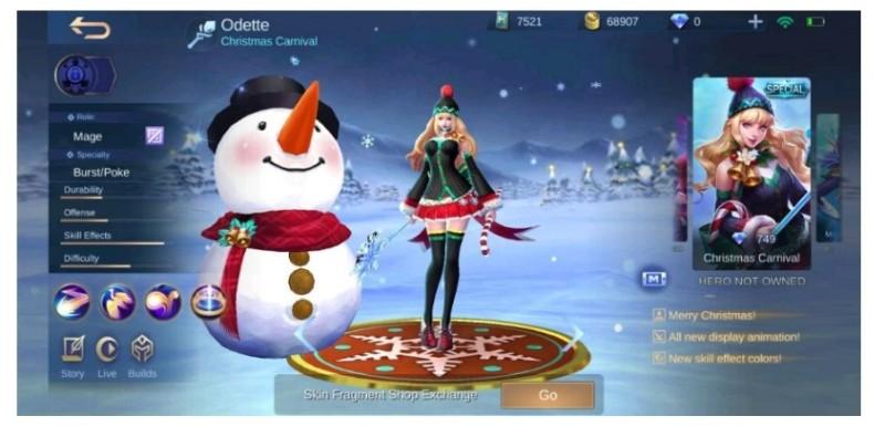 Event Spesial Christmas Berhadiah Skin Gratis Permanen