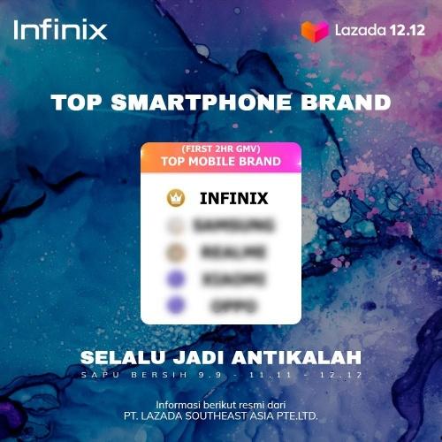 infinix top smartphone brand
