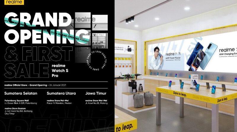 Realme Target 100 Realme Official Store di Indonesia