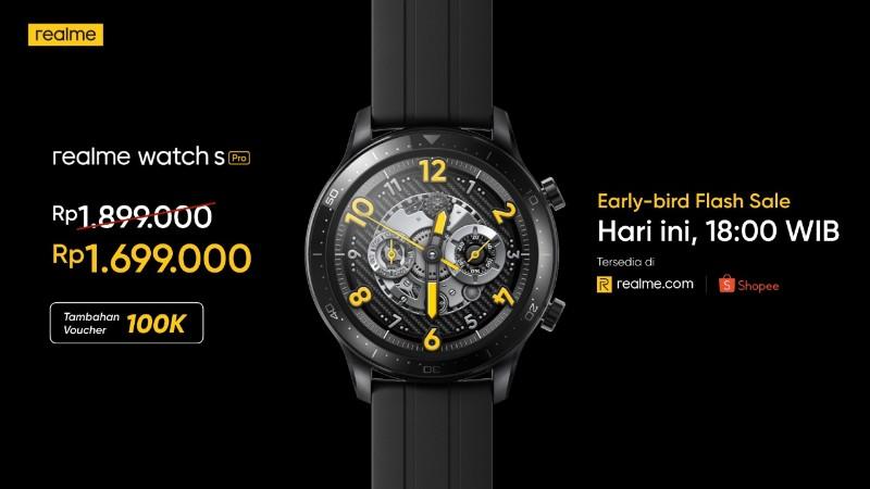 Harga realme Watch S Pro