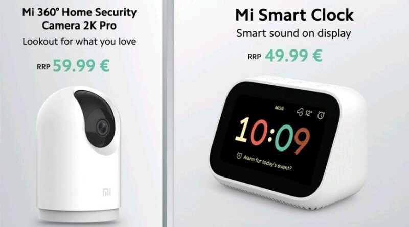 Xiaomi Rilis Mi 360 Home Security Camera 2K Pro & Mi Smart Clock