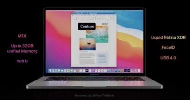 MacBook Pro 2021 Varian 14 & 16 inci Akan Rilis Dengan M1X