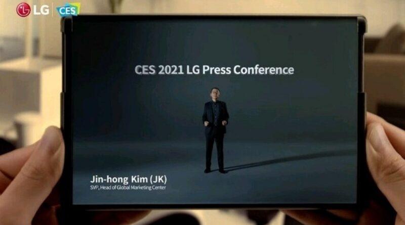 LG Rollable, HP Layar Gulung Canggih Nongol di CES 2021