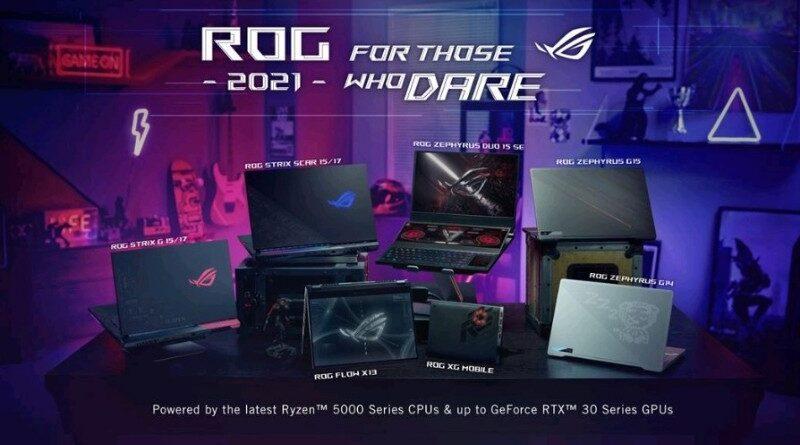 Ini Jajaran Laptop Gaming ROG Terbaru nan Inovatif di CES 2021