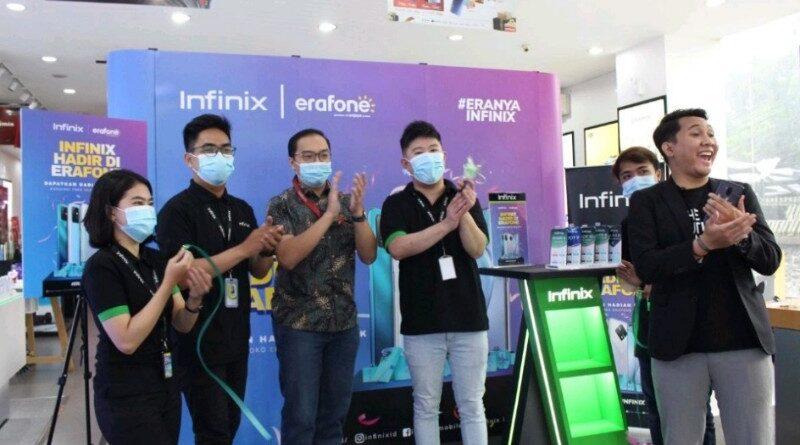 Jajaran HP Infinix Kini Hadir di Erafone