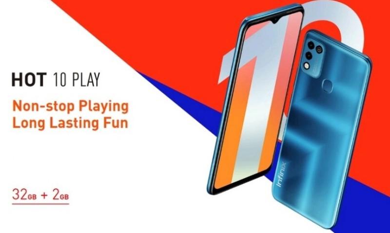 Spesifikasi Infinix Hot 10 Play