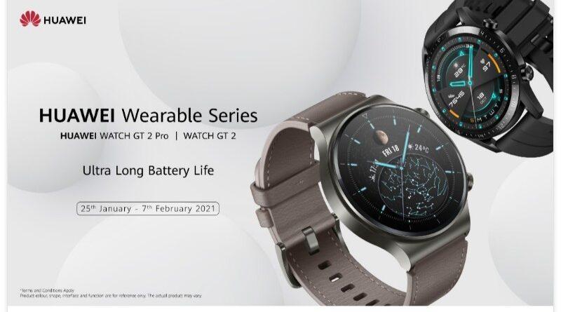 Ini Smartwatch Huawei Terbaik di Januari 2021