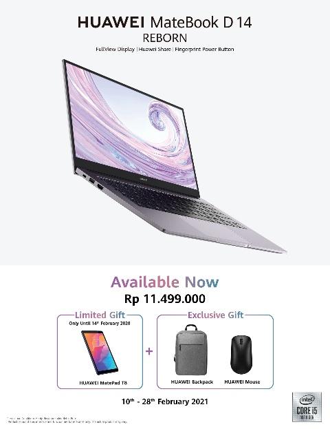 Huawei Matebook D14 Intel Edition