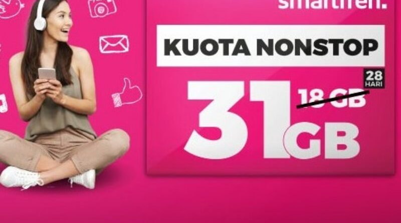 Extra Kuota Gratis, Kuota Nonstop Smartfren Kini Hingga 43 GB