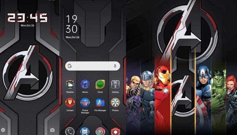 UI OPPO Reno5 Marvel Avengers Edition