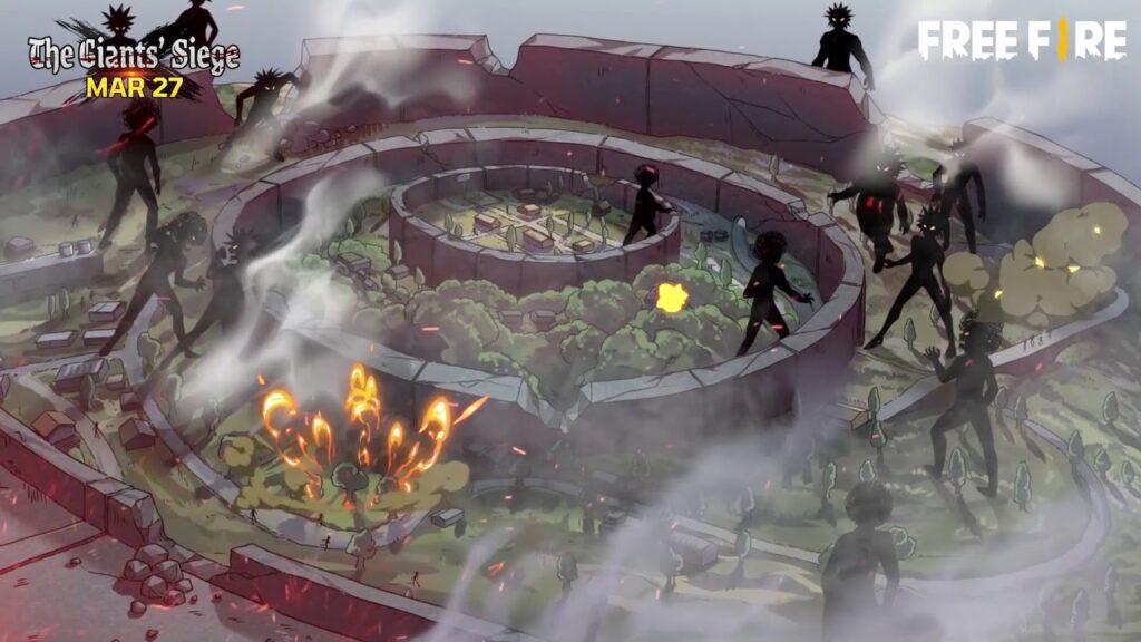 Gambaran Misi The Giant's Siege Free Fire