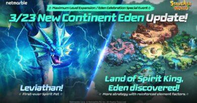 stoneage world mighty leviathan tiba di eden dalam update skala besar