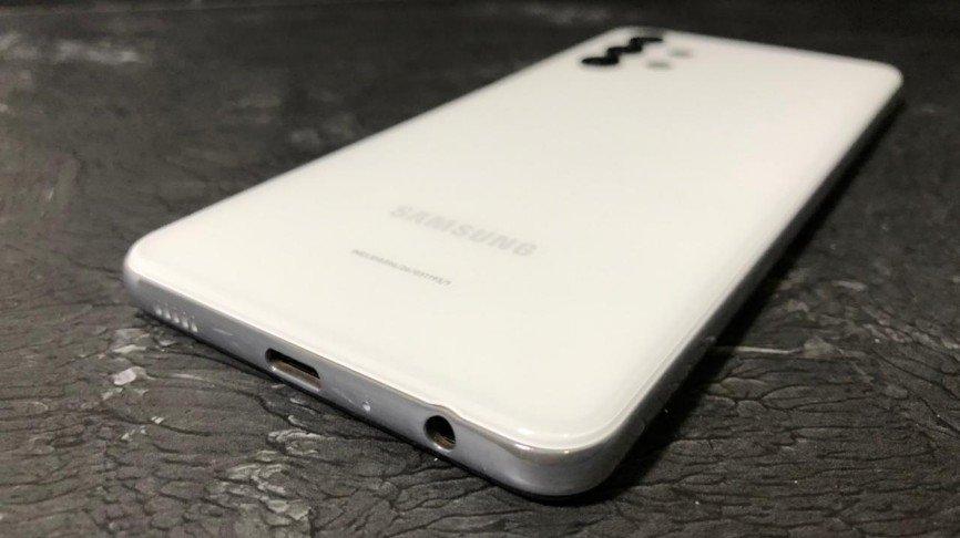 slot sim card dan Micro SD Galaxy A32