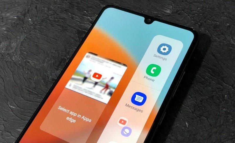 mode multi-window (split screen view) Samsung Galaxy A32