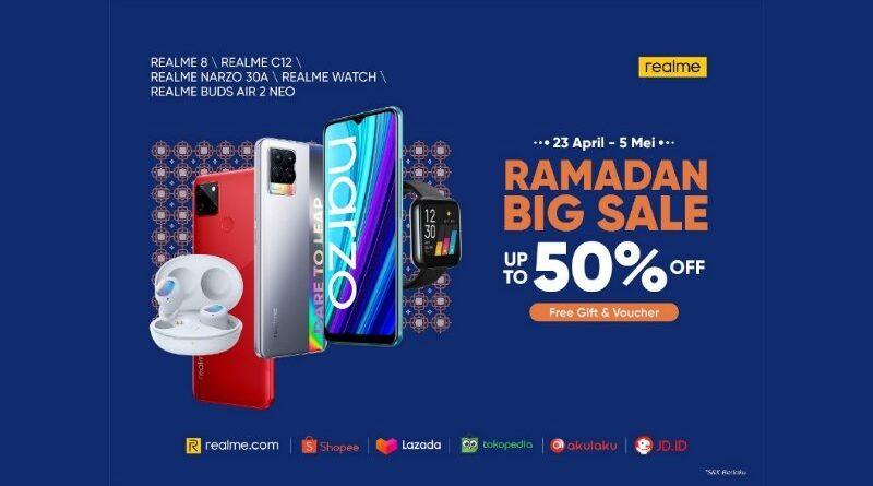 realme hadirkan Ramadan Big Sale dengan Diskon Hingga 50%