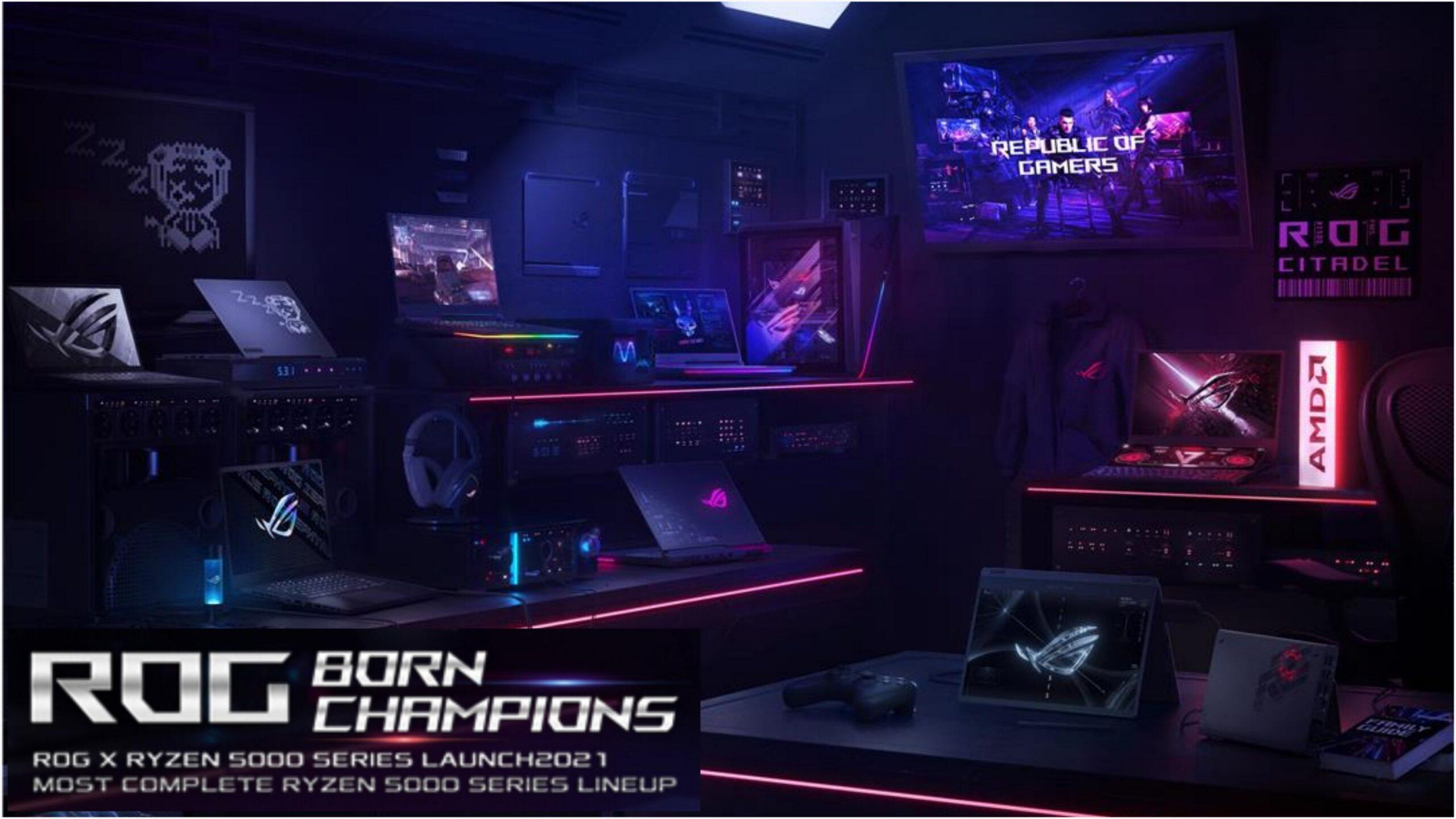 ASUS ROG Hadirkan Jajaran Laptop Gaming dengan AMD Ryzen 5000 Mobile Series Paling Lengkap di Indonesia