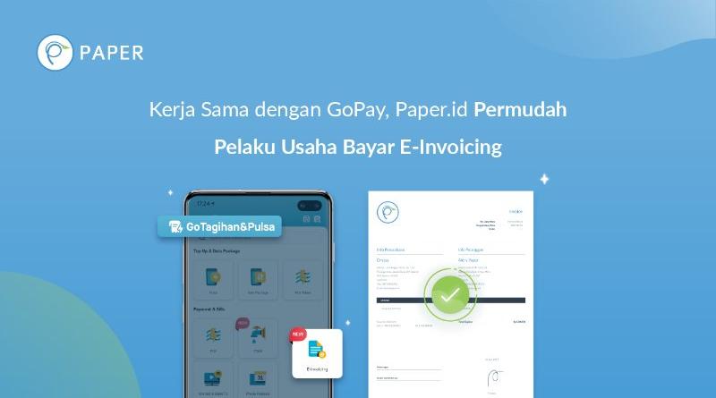 Paper.id Kerja sama dengan GoPay