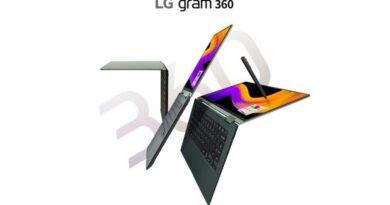 LG Gram 360 Launch
