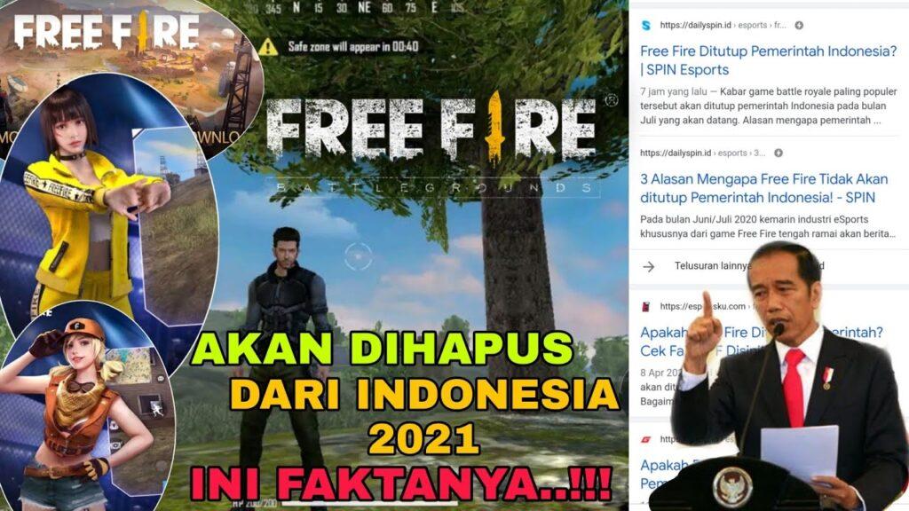 Fakta Free Fire (FF) akan Dihapus dari Indonesia Mei 2021 ...