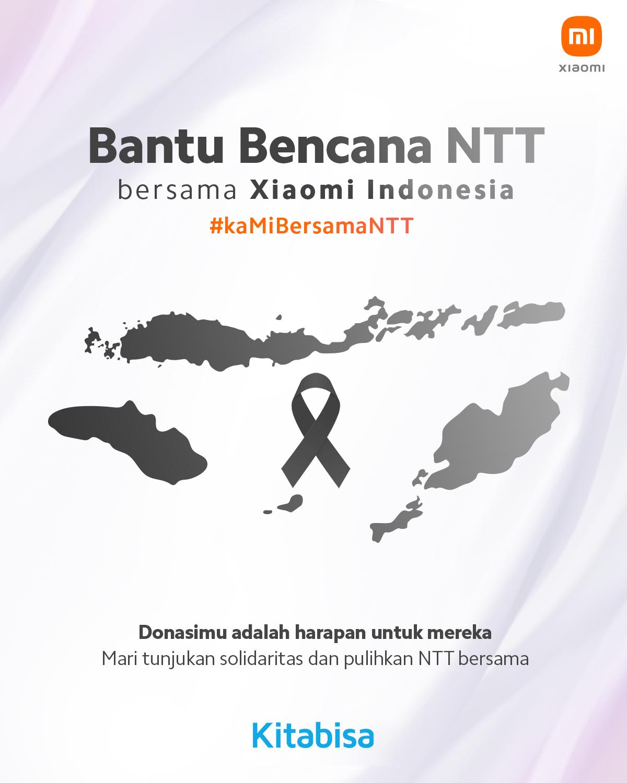 Penanganan Bencana Banjir di NTT Belum Usai, Xiaomi Ajak Donasi Bersama