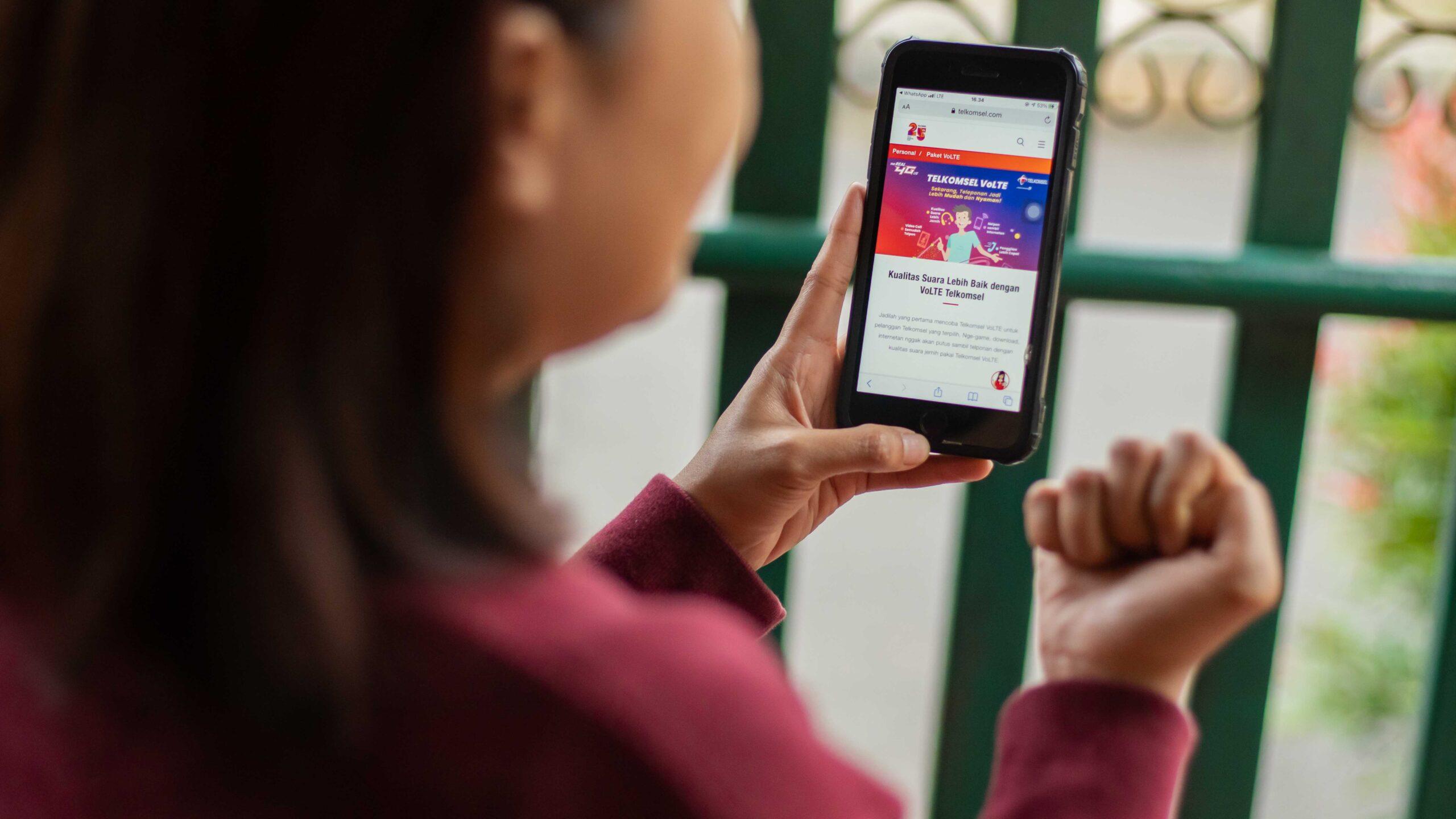telkomsel perluas cakupan volte