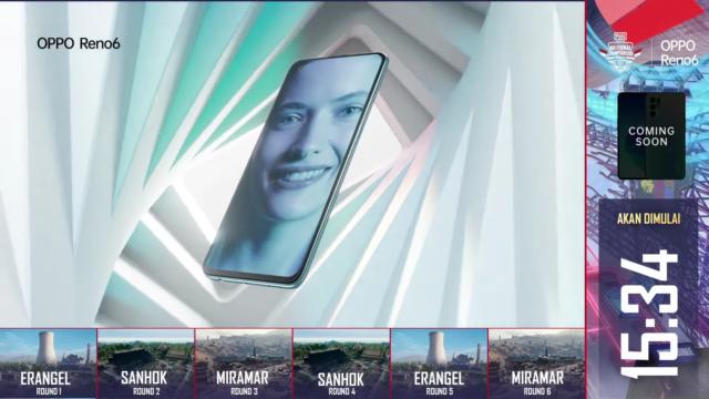 Bocoran Desain Reno6 Muncul Pada Video PMNC 2021