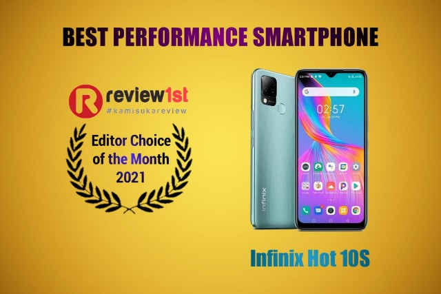 Infinix Hot 10S: Smartphone Performa Terbaik (Best of The Month 2021)