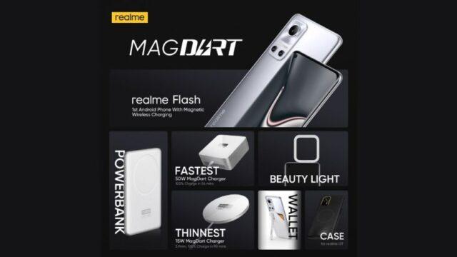 Apa itu MagDart, charger magnetic 50w