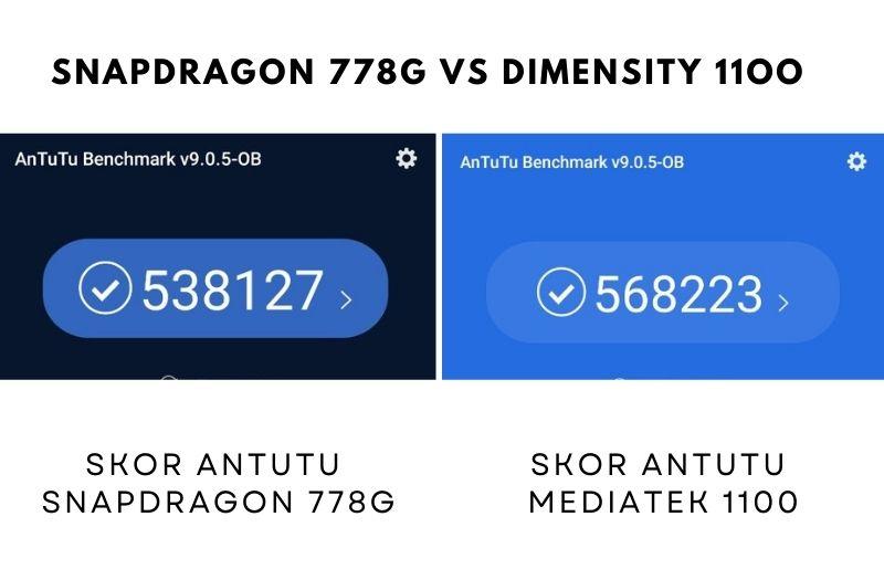 antutu benchmark snapdragon 778g vs dimensity 1100