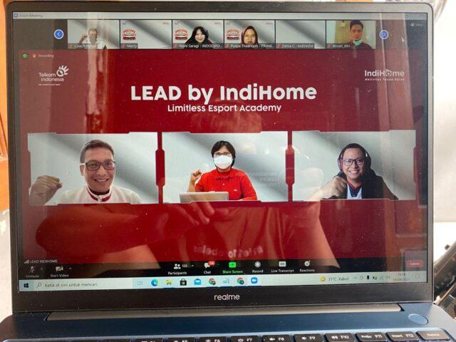 LEAD by Indihome, Dukung Pengembangan Atlet eSport Indonesia